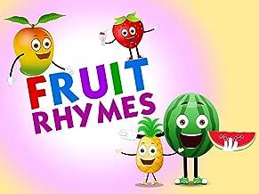 Fruit Rhymes