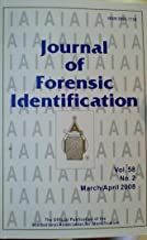 Skull Features as Clues to Age, Sex, Race, and Lifestyle / Modifications to the 1,2-Indanedione/Zinc Chloride Formula for Latent Print Development / The Use of Infrared Rays for Identification Purposes (Journal of Forensic Identification, Volume 58, Number 2, March/April 2008)