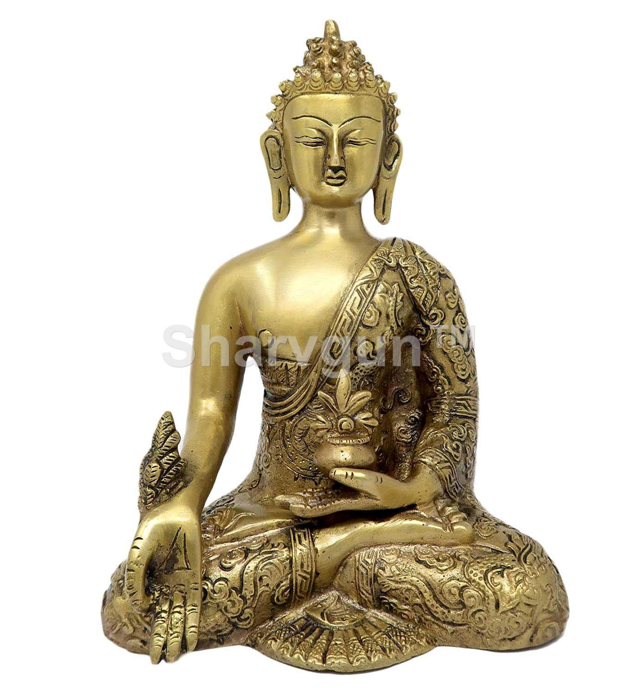 Sharvgun - Estatua de Buda Medicinal de latón para decoración del ...