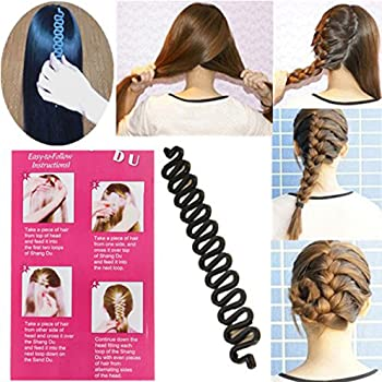 10 Pieces French Hair Styling Clip Hair Twist Tool Twist