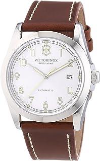 Victorinox Swiss Army - 241566 - Reloj analógico automático para Hombre con Correa de Piel, Color marrón