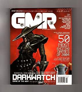 GMR Magazine - February, 2004. Issue # 13, The Bloody Issue. Darkwatch; Gran Turismo 4; Deus Ex 2; 1080 Avalanche; Final Fantasy XII; Terminator 3; Fatal Frame 2; Counter-Strike; Broken Sword; etc. etc.