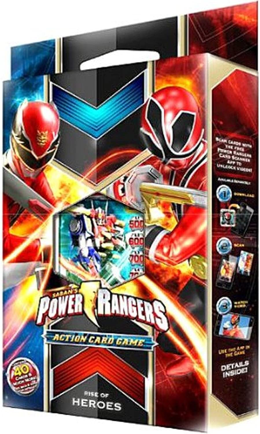 energia Rangers Megaforce azione autod gioco estrellater Deck Rise of Heroes by Beai