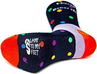 2 Pairs Lamp To My Feet Male Chosen Generation Calf Socks