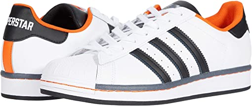 Footwear White/Core Black/Orange