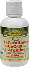 Dynamic Health Liquid L-Carnitine with CoQ-10 plus L-Arginine 473ml Bottle
