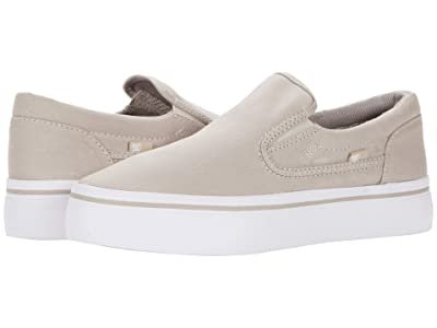 DC Trase Slip-On Platform (Grey) Women