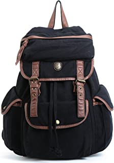 Best denim backpack black Reviews