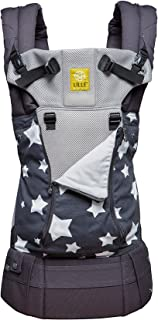 LÍLLÉbaby The Complete All Seasons SIX-Position 360° Ergonomic Baby & Child Carrier, Charcoal Star - Cotton