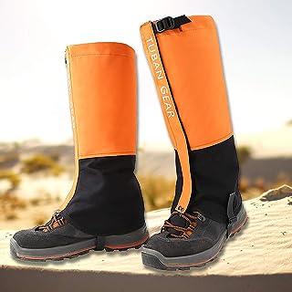 Beingamaskor vattentäta, justerbara anti-sprickor-snöskoparaplyer för utomhusvandring vandring skidåkning