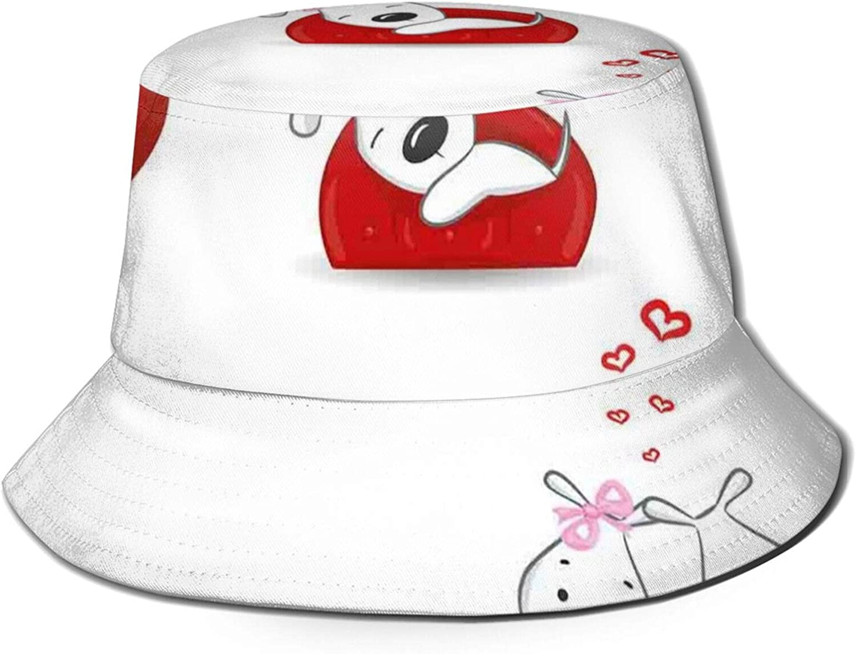 Packable Regular store Reversible Black Printed Fisherman Sun Bargain sale Bucket Hat S