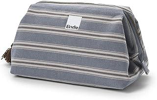 Elodie Details Toilettas Luiertas Luierhoud Zip&Go 100% Katoen - Sandy Stripe, Blauw