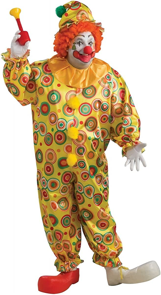 Jack the Jolly Clown Mail order Plus - Tulsa Mall 46-52 Costume Size