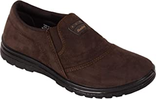 BATA Men Brown Slip On Canvas Shoes Sneakers