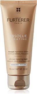 Rene Furterer Absolue Kratine Renewal Care Ultimate Repairing Mask for damaged hair - for Thick Hair, 100 ml