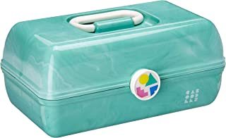 Caboodles On-The-Go Girl Sea Foam Marble Vintage Case, 1 Lb