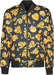 Versace Jeans Couture C1gvb9b8 Jackets Men Black - EU 52 (IT 52) - Blouses Outerwear