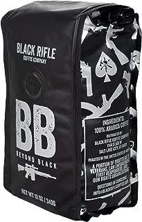 Black Rifle Coffee Company Beyond Black Dark Roast Ground Coffee, 12 Ounce Bag