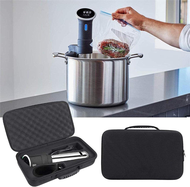 LODCC Estuche rígido de protección de EVA para Caja de Almacenamiento para Anova Culinary Bluetooth Sous Vide Precision Cooker Machine Bolsas Accesorios Piezas de Repuesto Sencillo