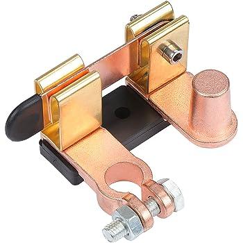 WOVELOT 2Er-Pack 12V 24V-Isolator-Trennschalter F/ür Autobatterien Unterbrechen Der Stromabschaltung Not-Aus-Schalter