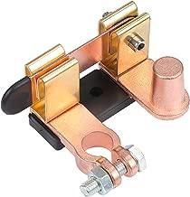 como se Muestra Pudincoco Durable Mini Good Car Heavy Duty Desconectador de bater/ía Aislador Interruptor Matel y ABS utilizados en los veh/ículos de Motor