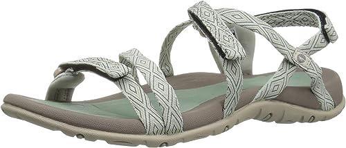 Hi-Tec Wohombres Santori Strap Sandal, Jadeite Warm gris, 9 D US