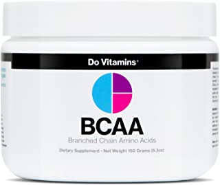 Vegan BCAA Powder Unflavored - Branched Chain Amino Acids - Clean BCAA Powder with AjiPure Essential Amino Acids - Certifi...