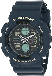 Casio Analog-Digital Black Dial Men's Watch-GA-140-2ADR (G977)