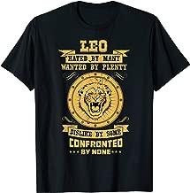 Leo Zodiac T-Shirt I Proud Lion Astrology Horoscope Sign T-Shirt