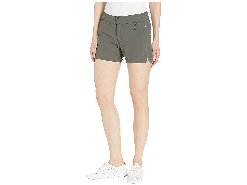 Fjallraven High Coast Trail Shorts (Mountain Grey) Women