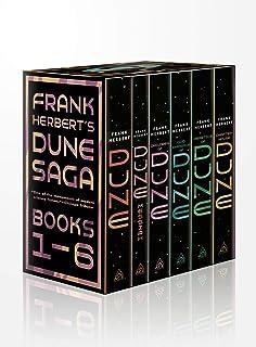 Frank Herbert's Dune Saga 6-Book Boxed Set: Dune, Dune Messiah, Children of Dune, God Emperor of Dune, Heretics of Dune, a...