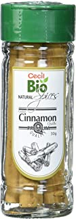 Cecil Bio - Canela natural en rama, bote de 30 g (pack de 4)