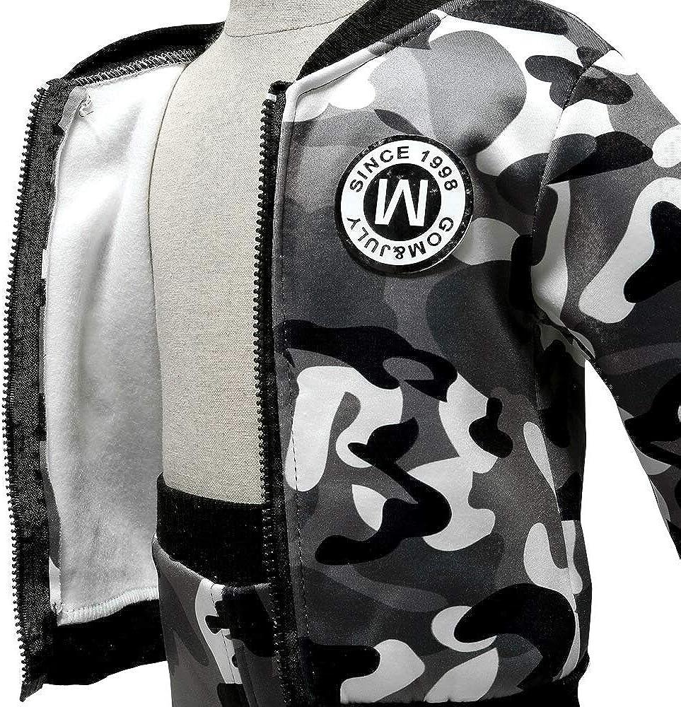 Camouflage-Trainingsanzug Jogginghose Sweatshirt Coralup Winterbekleidungs-Set f/ür Kleinkinder 3 Farben, 12 Monate bis 5 Jahre warme Outfits f/ür kleine Jungen und M/ädchen
