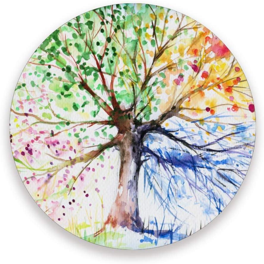 Tree Gift Tree of Life Art Housewarming Gift Mosaic Art COASTER SET of 4 Multicoloured Tree of Life Coasters Tree Coasters