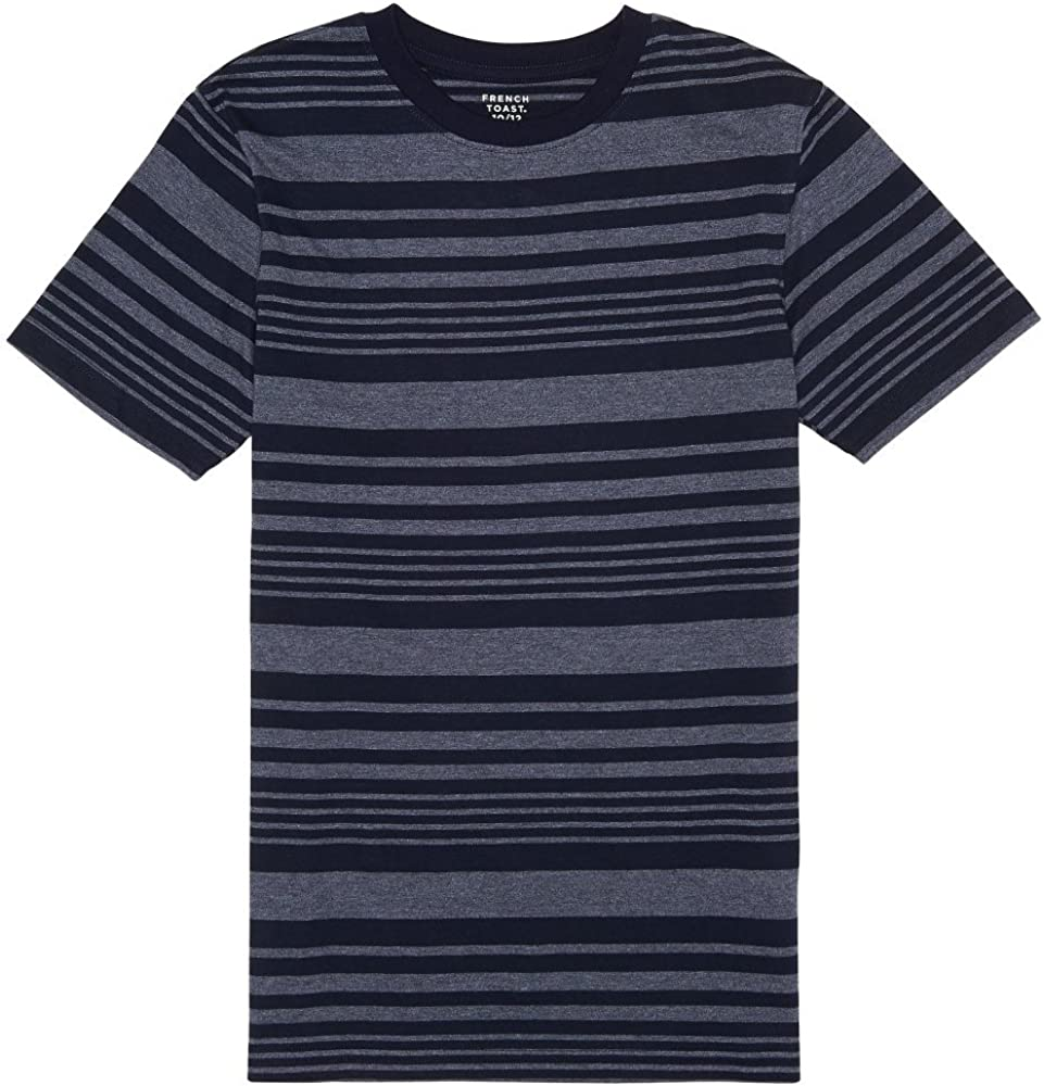 French Toast Boys' Printed Crewneck NEW before selling ☆ Tee Stripe Sale item