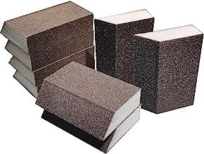 M-jump 8 Pack Single Sanding Sponge, Coarse/Medium 4 Different Specifications Sanding Blocks Assortment,Washable and Reusable