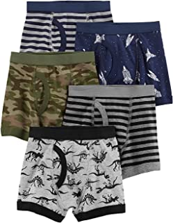 Carter's Boy's Cotton Boxer Briefs