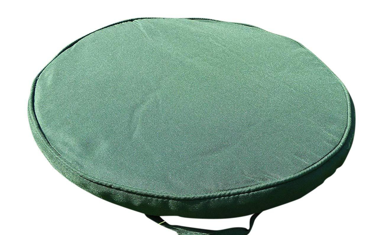 UK-Jardins 38cm Round vert Bistro Meubles de jardin Coussin de ...