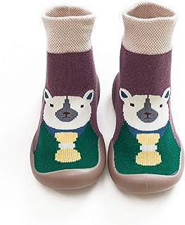 feeilty, feeilty Calcetines de invierno con dibujos animados, antideslizantes, para niñas