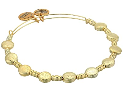 Alex and Ani Coin Charm Bangle (Shiny Gold) Bracelet
