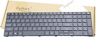Eathtek Replacement Keyboard for Gateway NV59C NV50 NV50A NV51 NV53 NV53A NV73A NV55C ID58 ID59 ID79 Series Black US Layou...