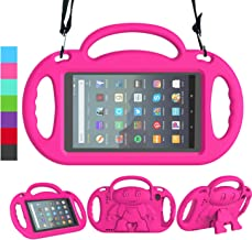 LEDNICEKER Kids Case for All-New Fire 7 Tablet (9th Generation - 2019 Release) - Shockproof Handle Friendly Kids Stand Cas...