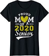 Womens Proud Mom Of A 2020 Senior Mommy Tshirt First Day Of School