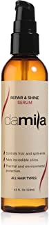 Damila Repair & Shine Serum - Provides Benefits of Split End Repair and Frizz Control Hair Products - Provides incredible Shine to your Hair. Repair and Shine Formula - 4 Oz (118 ml)