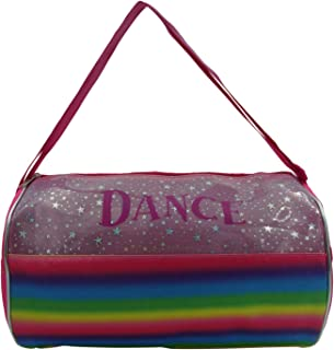 "Dance Rainbow Shimmer Duffel Bag (13"")"
