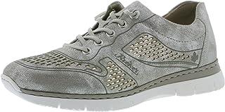 Rieker M5228 Chaussures basses à lacets pour femme Aspect usé