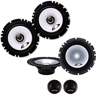 sinustec Frontal//Trasera 16,5/cm//165/mm Auto Altavoz//Cajas//Speaker Set Completo para Seat