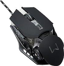 Mouse Gamer 3200 DPI Design Anatômico com LED Preto Warrior - MO267