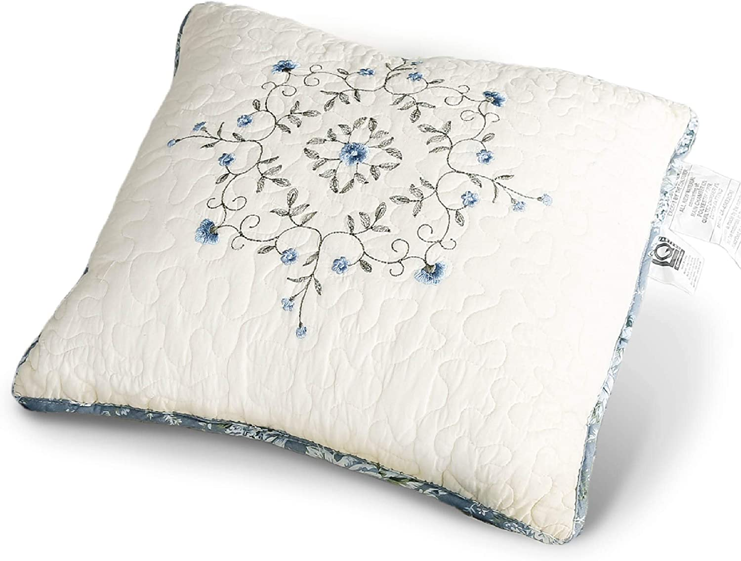 KASENTEX Luxurious Patchwork Bedspread C Embroidery Limited price sale Cushion Ranking TOP16 100%