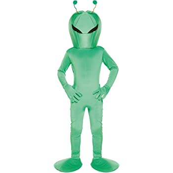 Disfraz infantil Alien MEDIANO 7-9 AÑOS: Amazon.es: Juguetes y juegos